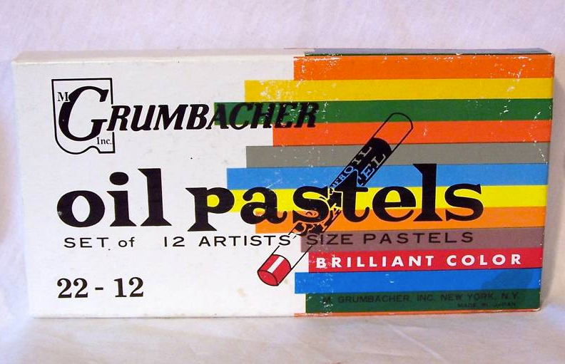 grumbacher oil pastels2