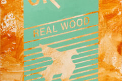 Real Wood / 2012 / acrylic on hardboard / 8x10""